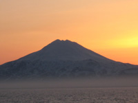 Volcano, Kuril Islands